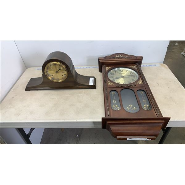 Mantle clock and wall clock