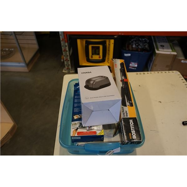 HANDI SCAN, ELECTRONIC HOLE PUNCH, BOSTICH LONG REACH STAPLER AND ELECTRONIC HOMEWORK PEN