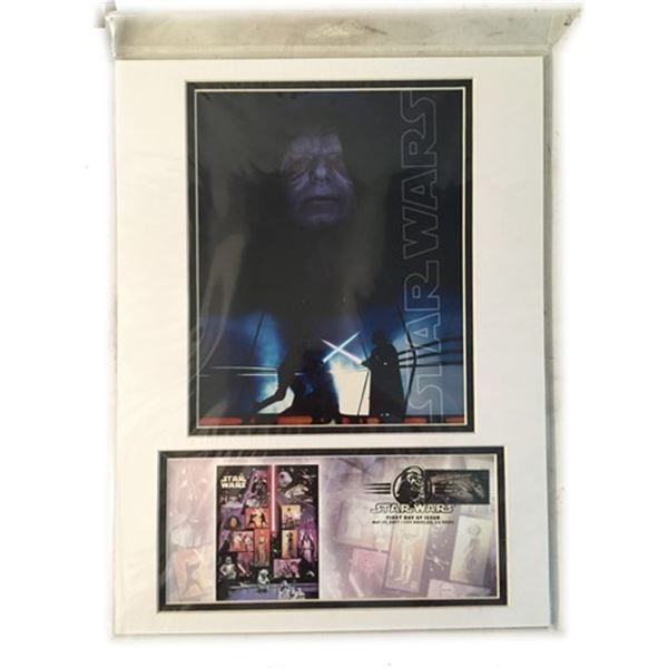 Star Wars 30th Anniversary Collectible Poster/Stamp