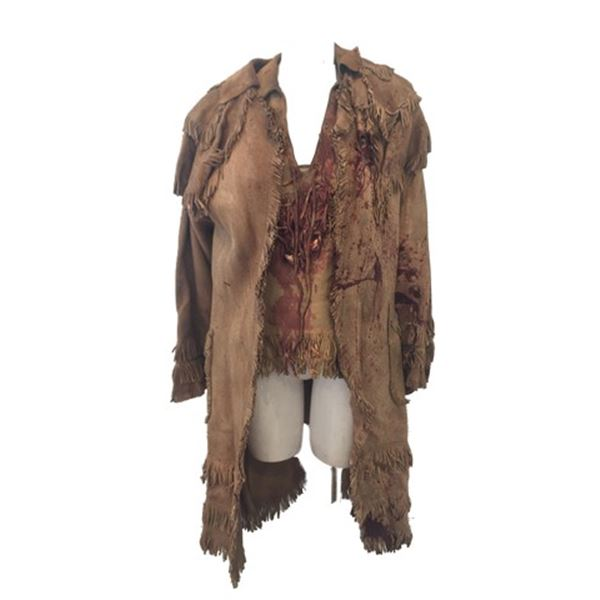 The Hateful Eight Six Horse Judy (Zoe Bell) Bloody Movie Costumes
