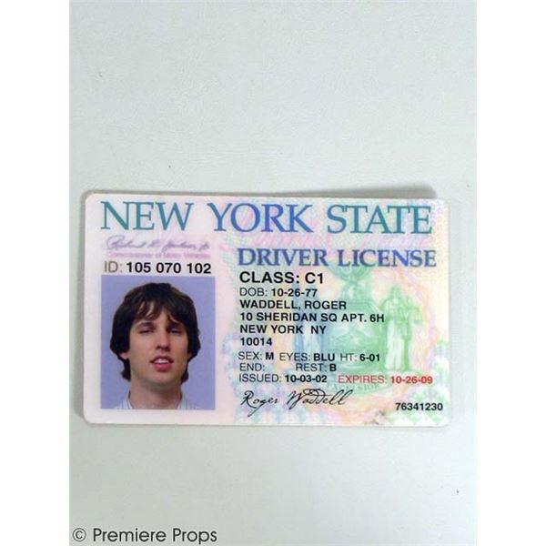 School for Scoundrels Roger (Jon Heder) Driver's License Movie Props
