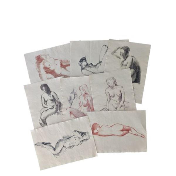 Tulip Fever Jan Van Loos (Dane DeHaan) Sketches of Sophia Movie Props