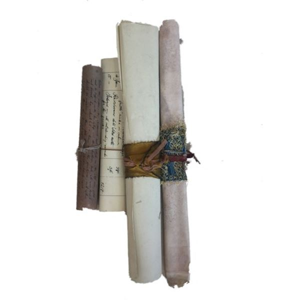 Underworld: Rise of the Lycans Great Hall scrolls Movie Props