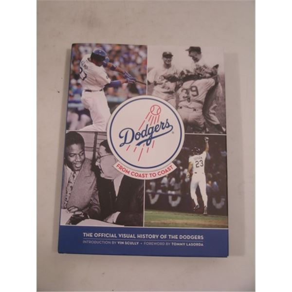Dodgers History Hardcover Book