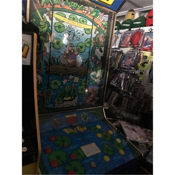 Ribbit Racing coin operated arcade game