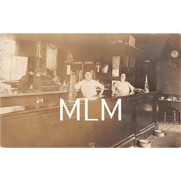 Bar Saloon Interior with No Liquor Chicago, Illinois Photo Postcard