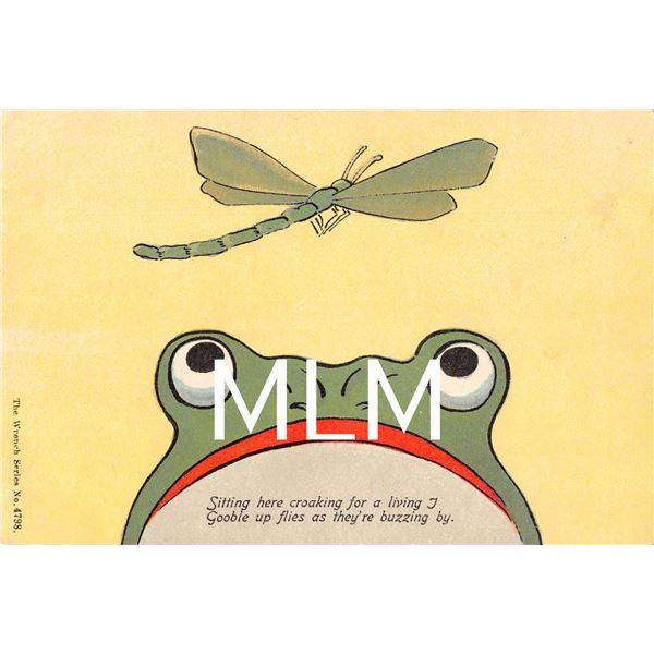 3 Card Installment Frog Postcard Set