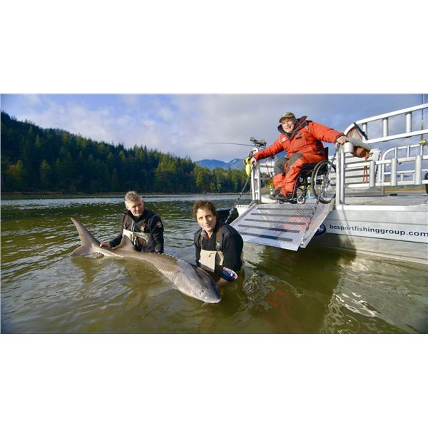 STURGEON FISHING WITH RICK HANSEN - YES, THAT RICK HANSEN