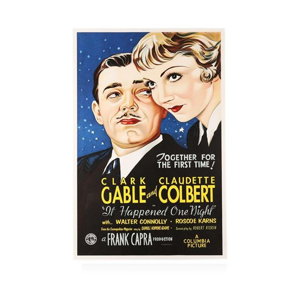 It Happened One Night Recreation 1 Sheet Movie Poster