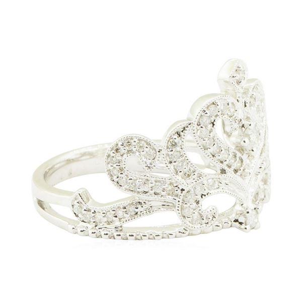 0.63 ctw Diamond Ring - 18KT White Gold