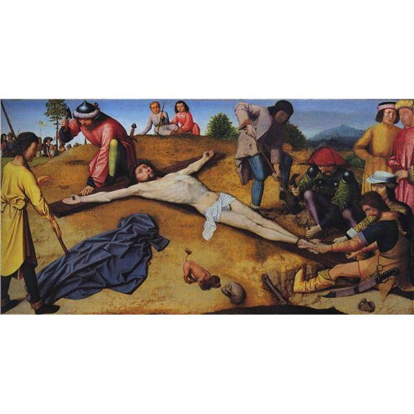 Gerard David -Christ Nailed to the Cross