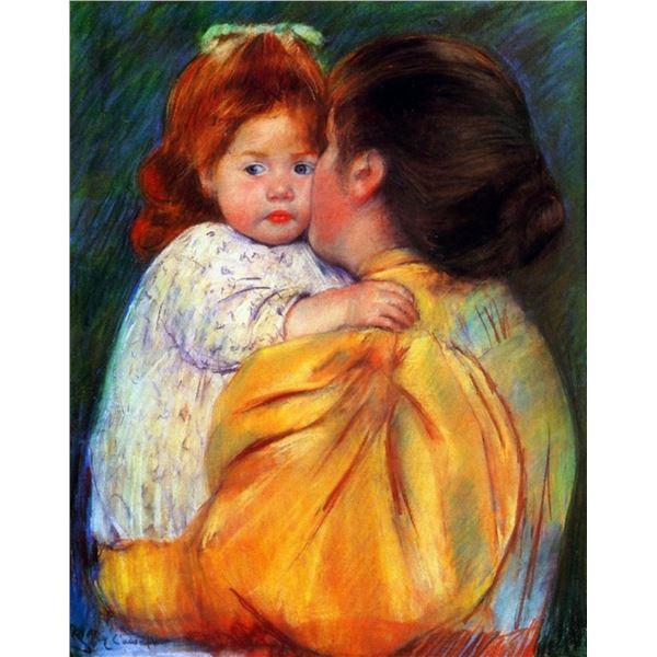 Mary Cassatt - Maternal Kiss 1896