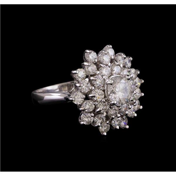14KT White Gold 2.64 ctw Diamond Ring