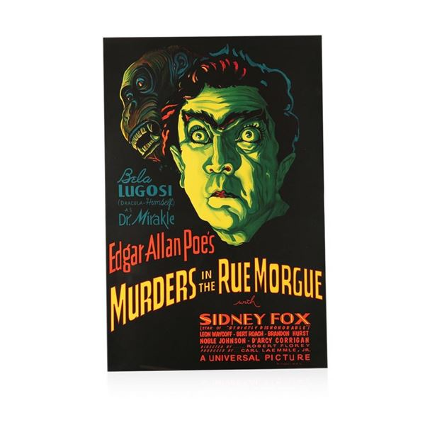 Murders in the Rue Morgue Recreation 1 Sheet Movie Poster