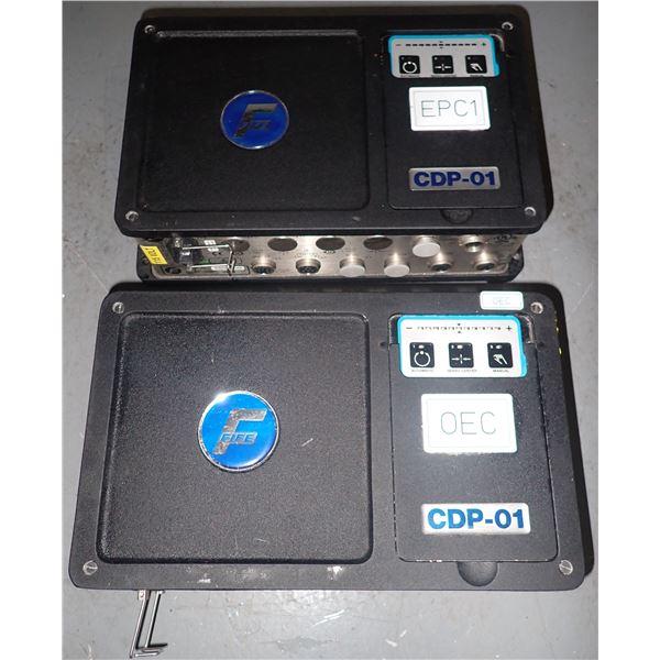 Lot of (2) FIFE #CDP-01-M Processor Controllers
