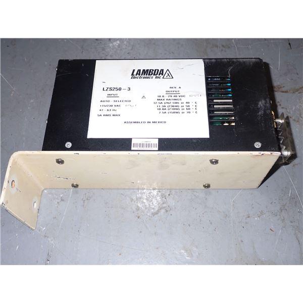 Lambda #LZS250-3 Power Supply