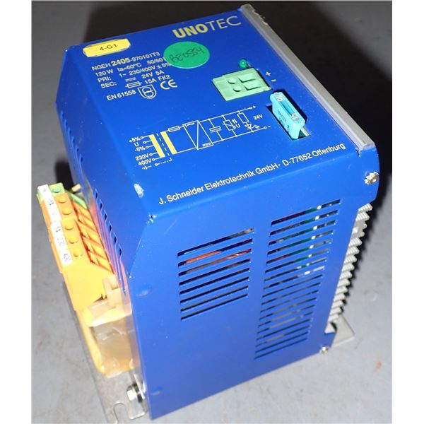 UNOTEC #NGEH2405-970101T3 POWER SUPPLY
