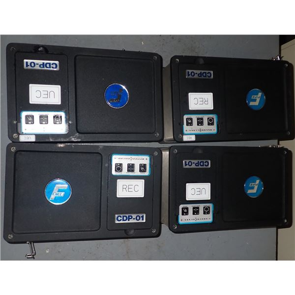 Lot of (4) FIFE #CPD-01-M Processor Controllers