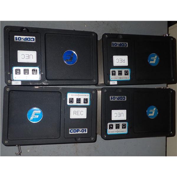 Lot of (4) FIFE #CDP-01-M Processor Controllers