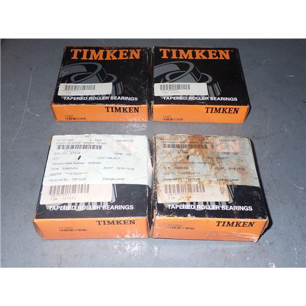 Lot of Timken Bearings