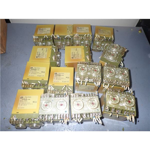 Lot of PILZ #PSWZ 2S SAFETY RELAYS
