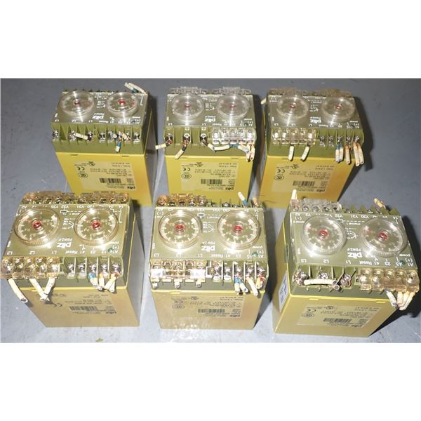 Lot of PILZ #PSWZ-F SAFETY RELAYS
