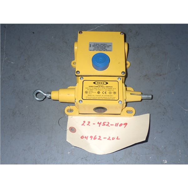 REES #04962 Cable Pull Switch
