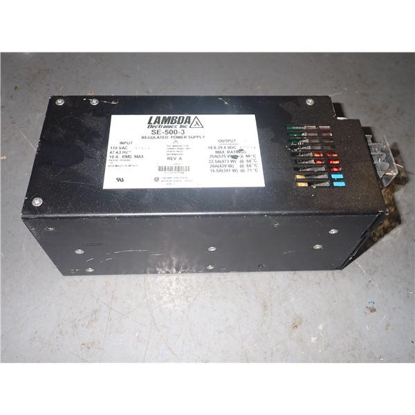 Lambda #SE-500-3 Power Supply