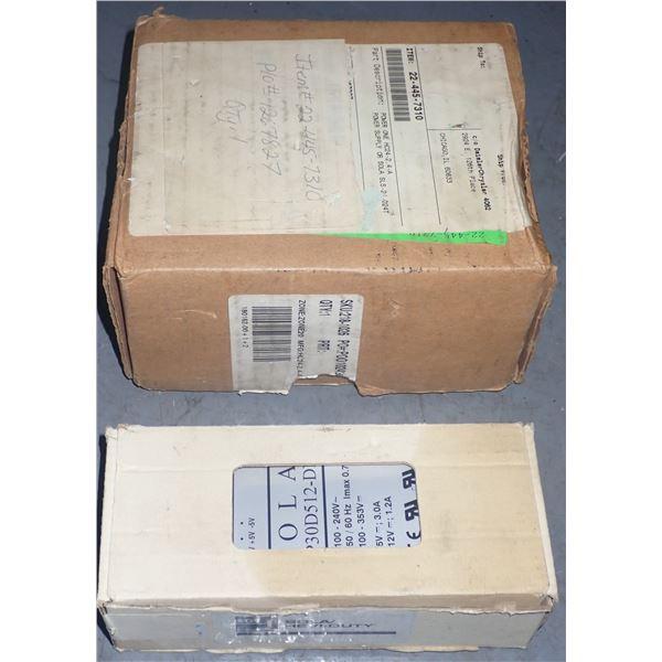 Lot (2) Power Supplies