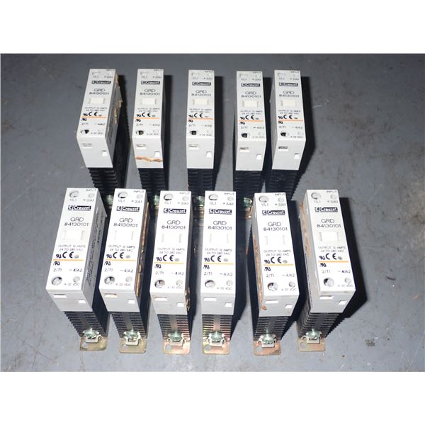 Lot of Crouzet #GRD 84130101 Solid State Relays