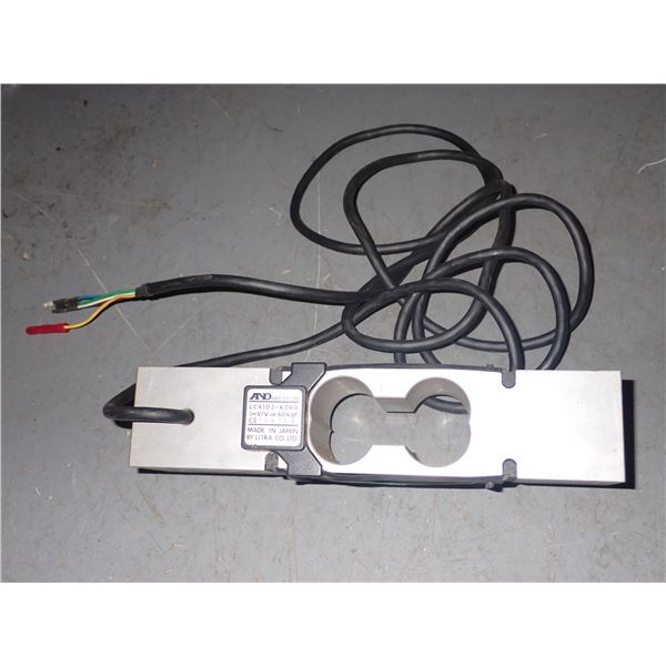A& D #LC4103-K060 SINGLE POINT LOAD CELL