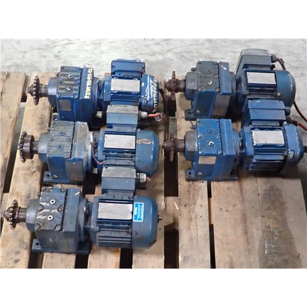 Lot of (5) SEW Eurodrive Units