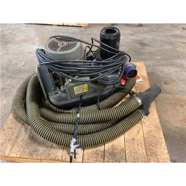 Vortron Centrifugal Blower System with Hoses