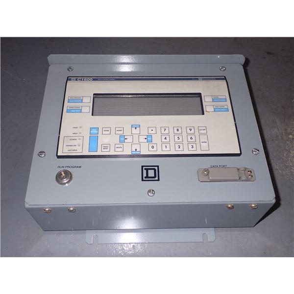 Square D #C1600 Data Entry Panel