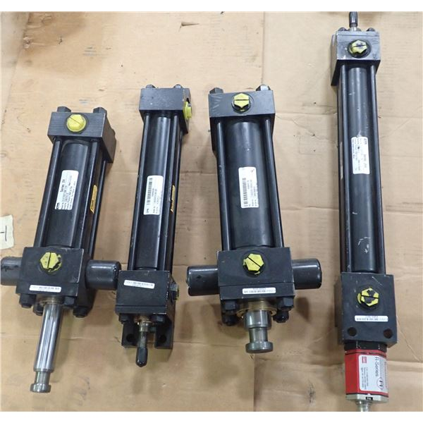 Lot of (4) Parker Cylinders