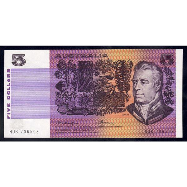 AUSTRALIA $5. 1976. Knight-Wheeler. GOTHIC SERIAL/SIDE THREAD