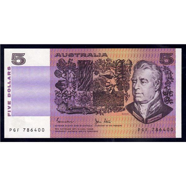 AUSTRALIA $5. 1983. Johnstone-Stone