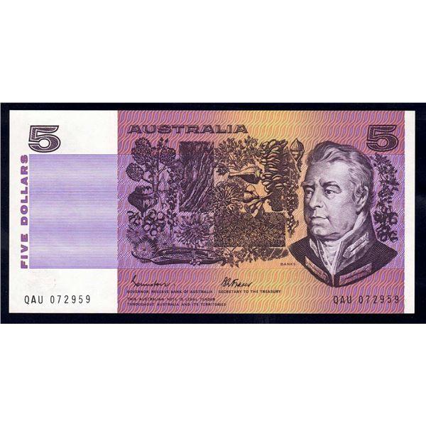 AUSTRALIA $5. 1985. Johnstone-Fraser. SCARCER GOTHIC SERIAL