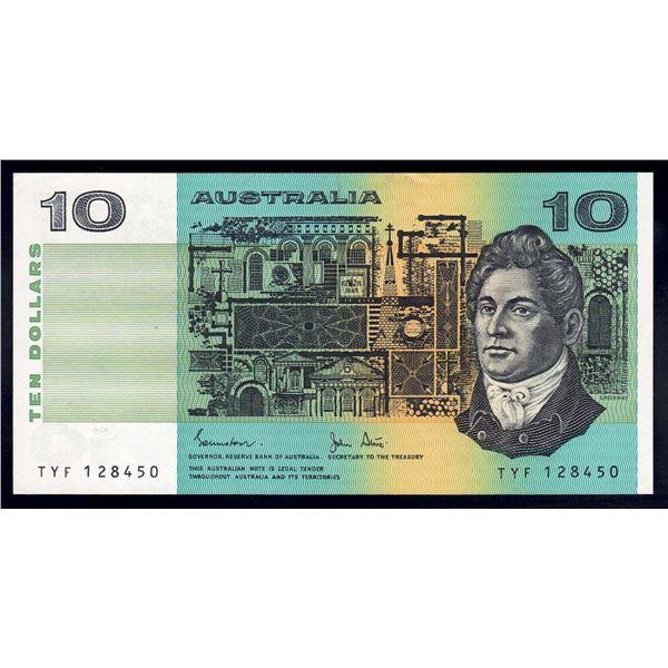 AUSTRALIA $10. 1983. Johnston-Stone
