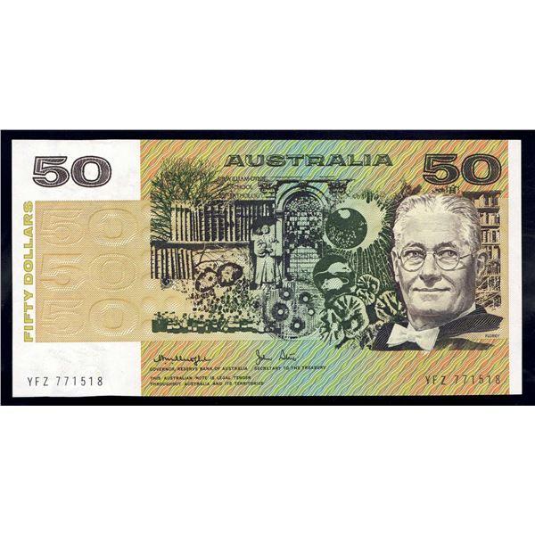 AUSTRALIA $50. 1979. Knight-Stone. LORD FLOREY PORTRAIT