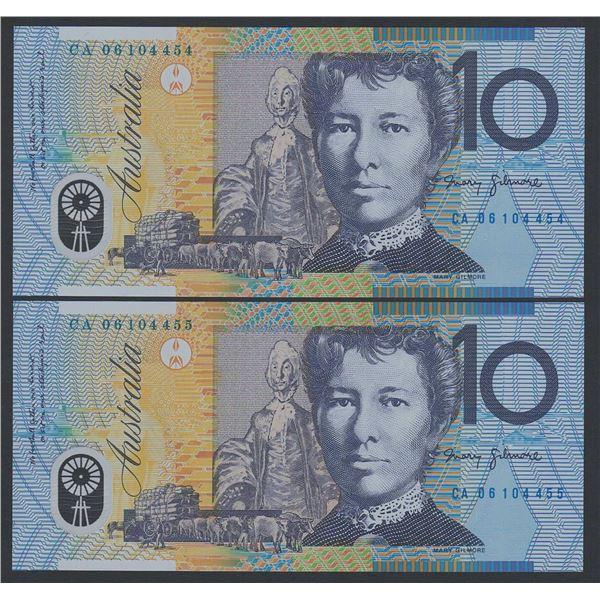 AUSTRALIA $10. 2006. Macfarlane-Henry. CONSECUTIVE PAIR