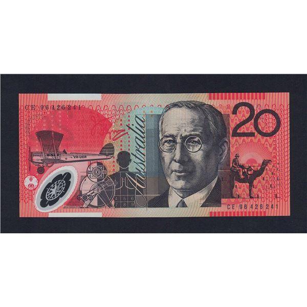 AUSTRALIA $20. 1996. Fraser-Evans. SCARCE DATE