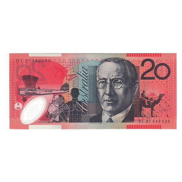 "AUSTRALIA $20. 2007. Stevens-Henry. NAME PREFIX ""DI"""