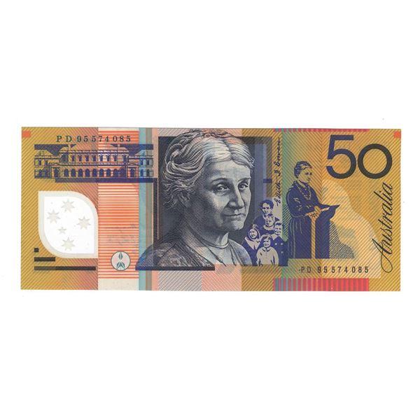 AUSTRALIA $50. 1995. Fraser-Evans. 1ST ISSUE
