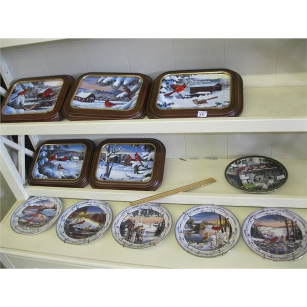 11 COLLECTOR PLATES