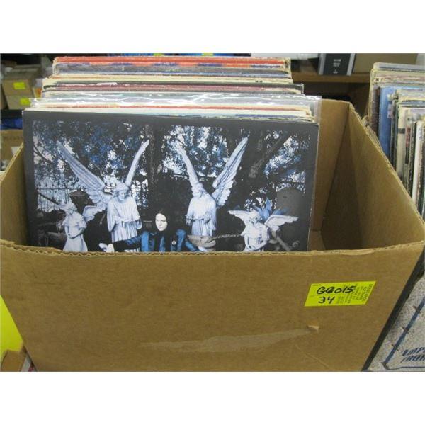BOX OF ASST. RECORDS