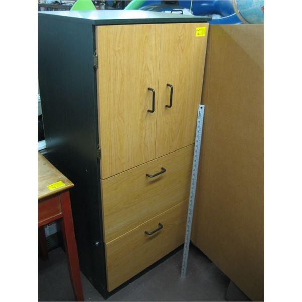 2 DOOR 2 DRAWER CABINET