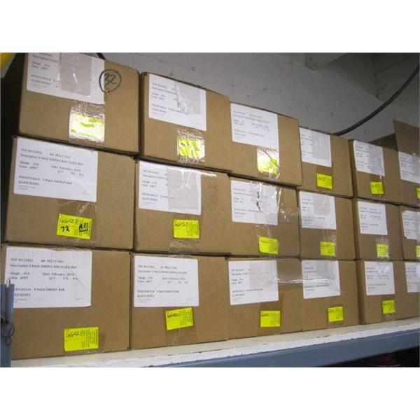 LG. LOT OF PLASTIC FLAT BOXES