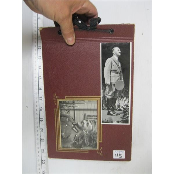 PHOTO ALBUM OF THE NEUREMBERG RALLIES FROM WW2