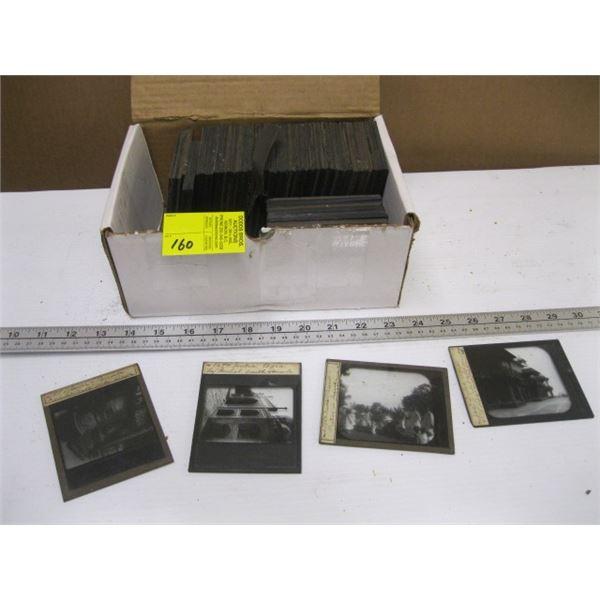 BOX OF PHOTOGRAPHER'S PLATES